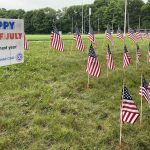 Fourth of July Flags Vandalized